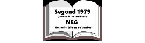 Version Segond NEG 1979 Nouvelle Édition de Genève