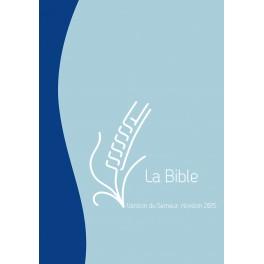 Bible Semeur Vert-Ocre, Compacte, Fermeture Éclair