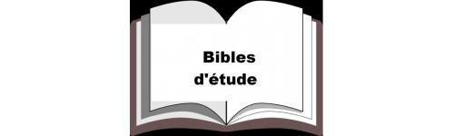 Bibles d'étude
