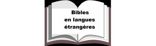 Bibles en langues étrangères