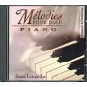 Melodies Pour Dieu CD Piano